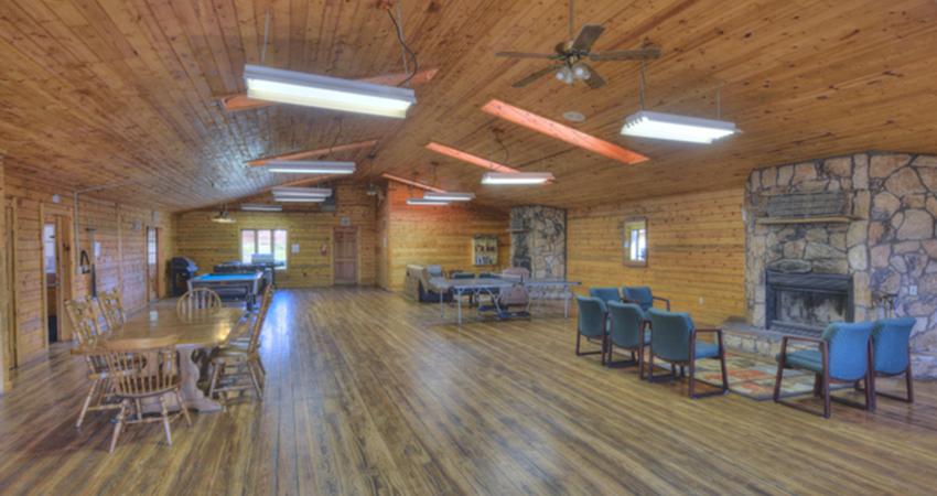 Aspen Acres Campground - Colorado Camping - Grand Lodge - Rec Hall