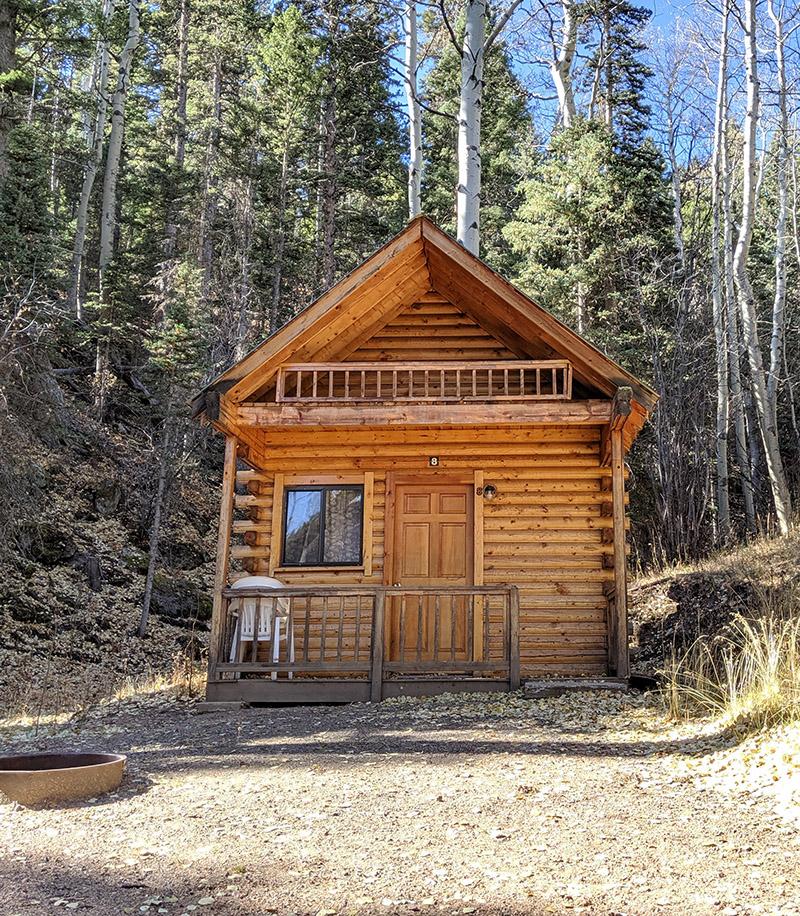 Aspen Acres Campground Colorado - Chalet Cabin with Loft
