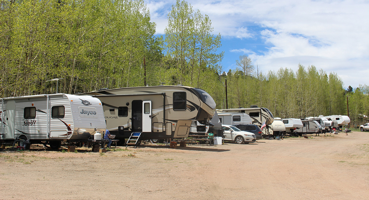 Aspen Acres Campground Colorado - Cabins - RV Park - Tent Camping