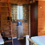 Aspen Acres Campground Colorado - Chalet Cabin with Loft - Deluxe Cabin