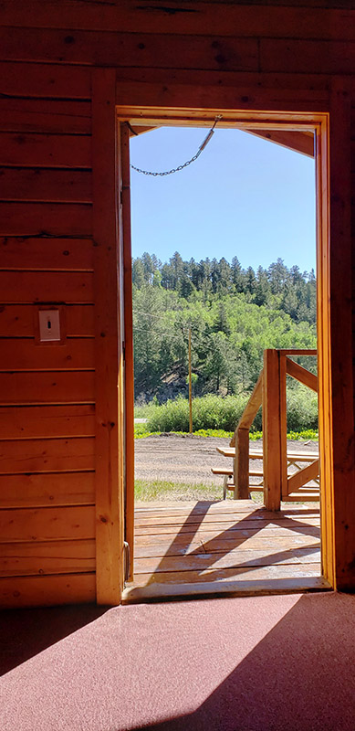 Aspen Acres Campground Colorado - Sleeper Cabin - Our Standard Cabin
