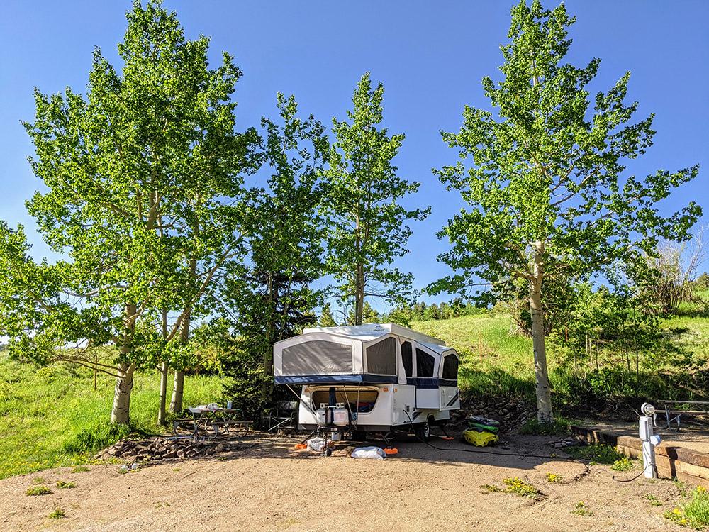 site 1 aspen acres campground