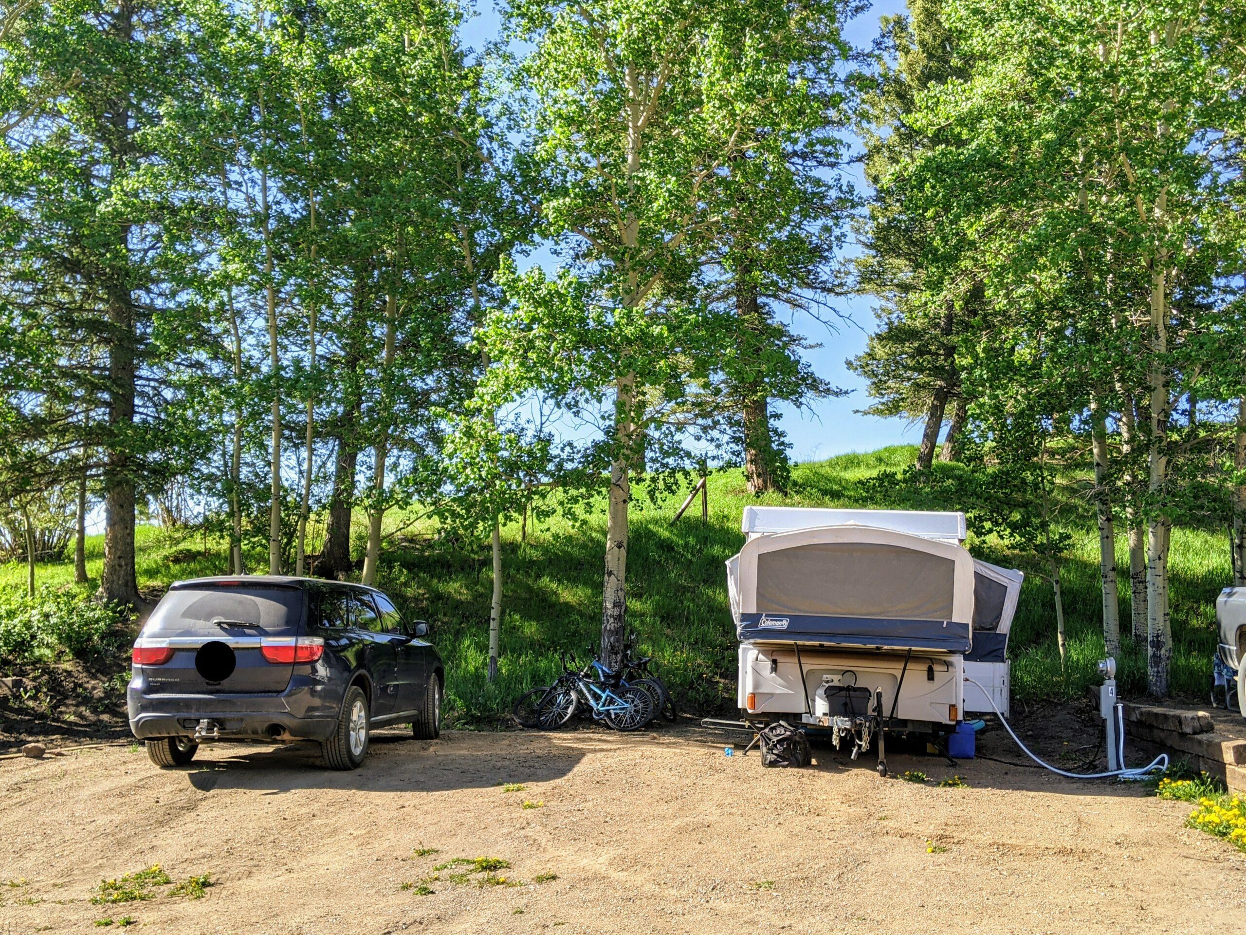 site 4 aspen acres campground