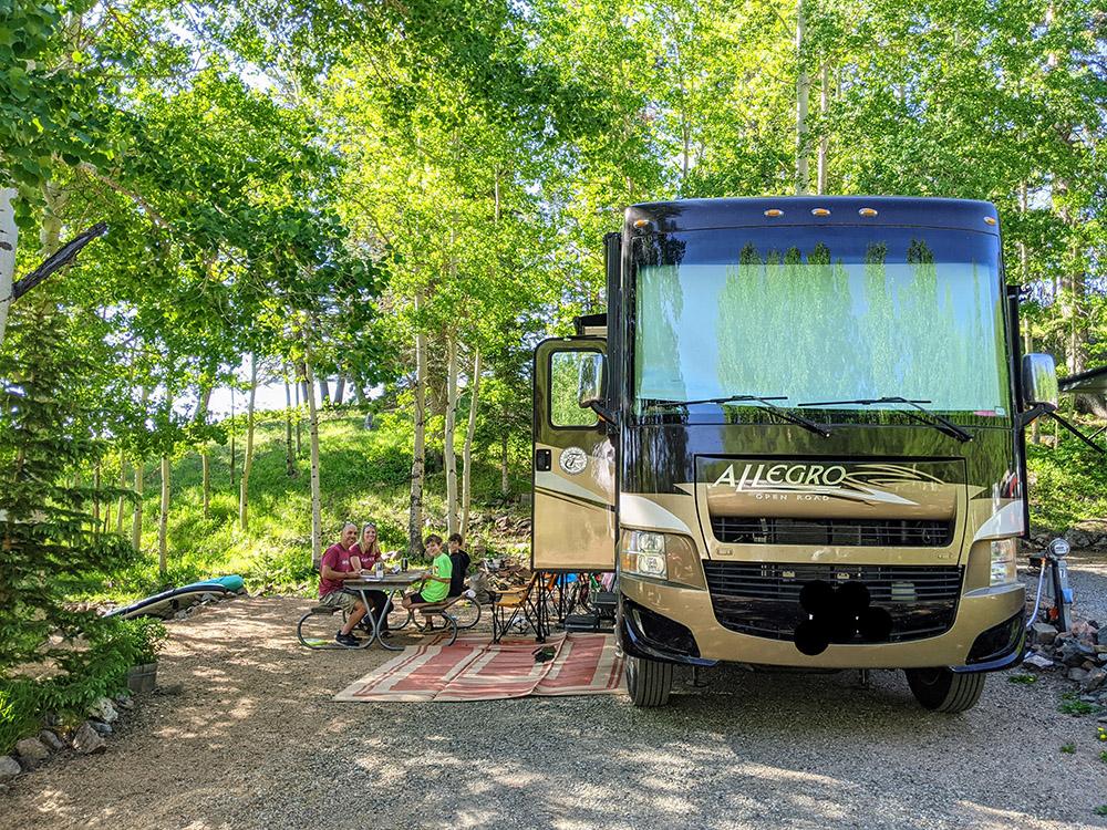 site 7 - aspen acres campground
